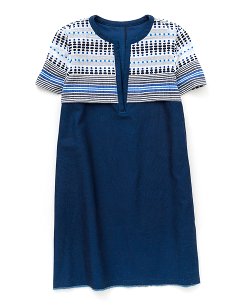 Lem Lem Jaha Dress in Indigo