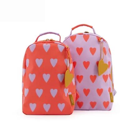 Miss Rilla and Mister Gorilla Mini Hearts Backpack