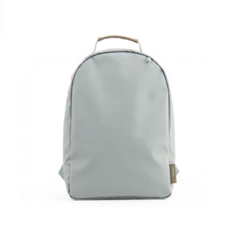 kids Miss Rilla and Mister Gorilla Mini Backpack - Plain Blue