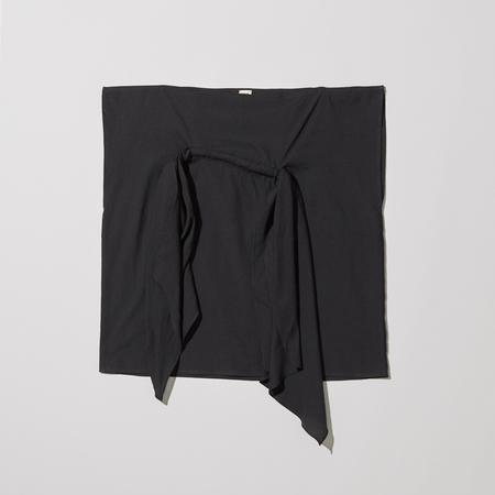 Baserange Tenali Top – Linen/Cotton - Black
