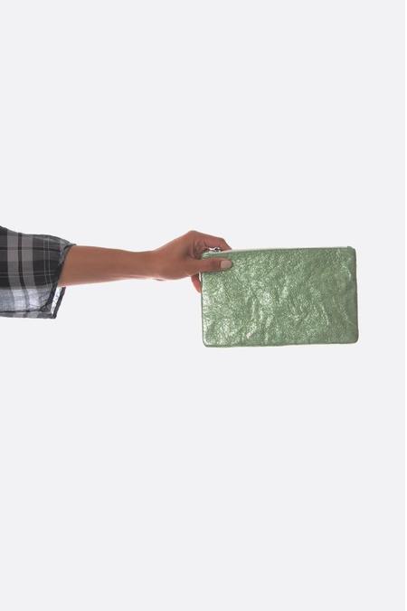 Zilla Metallic Big Pouch - Mint