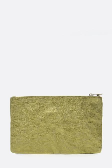 Zilla Metallic Big Pouch - Olive