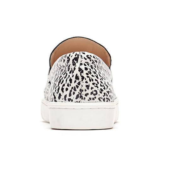 Loeffler Randall - Irini Buffalo Print Leather Slip-on Sneaker
