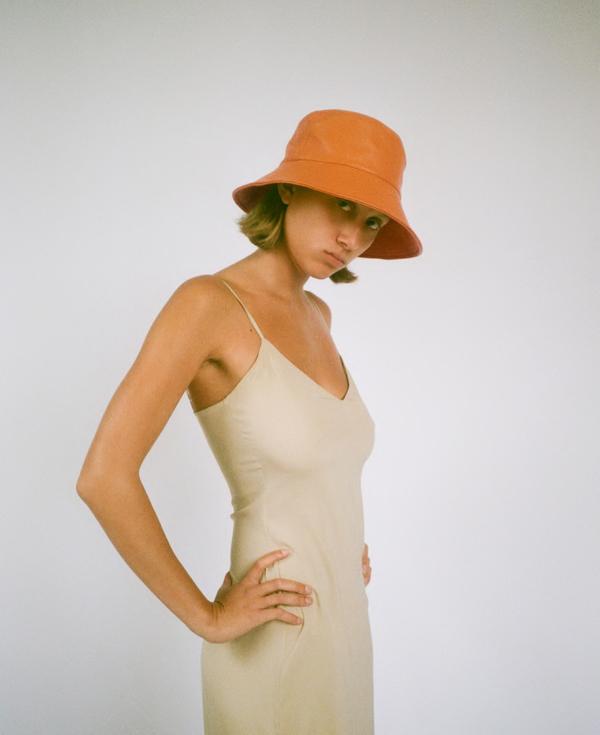 Clyde Lambskin Ebi Bucket Hat
