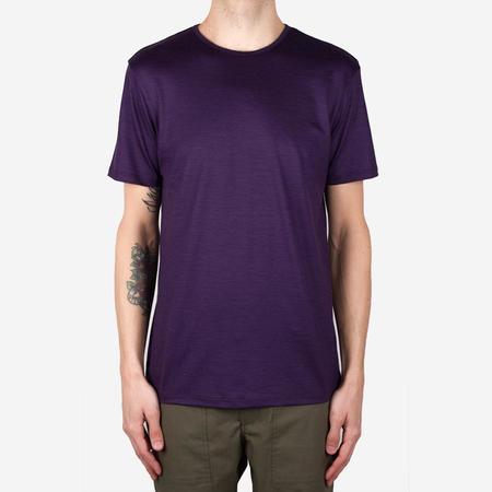 Bon Vivant Stevie Merino Tee - Purple