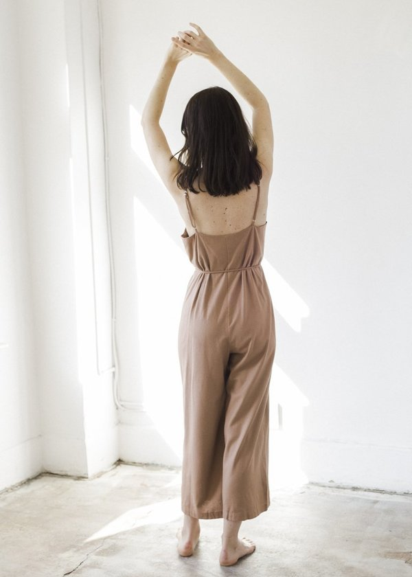 Ozma Cypress Playsuit - Sand