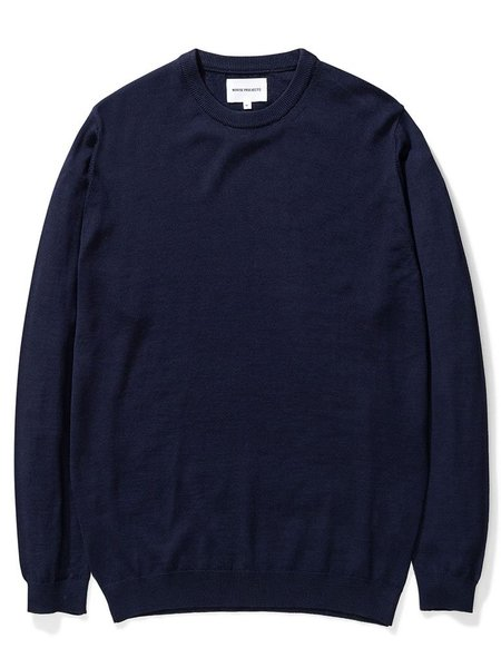Norse Projects Sigfred Sweater - Dark Navy