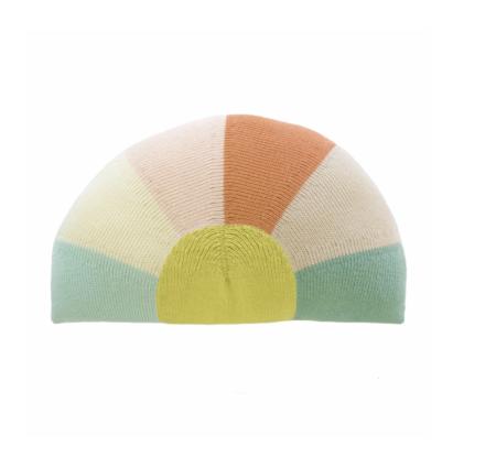 blabla Sunrise Knit Pillow