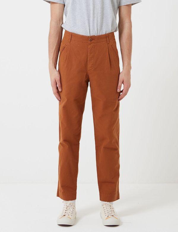 Folk Clothing Folk Assembly Trousers - Teak