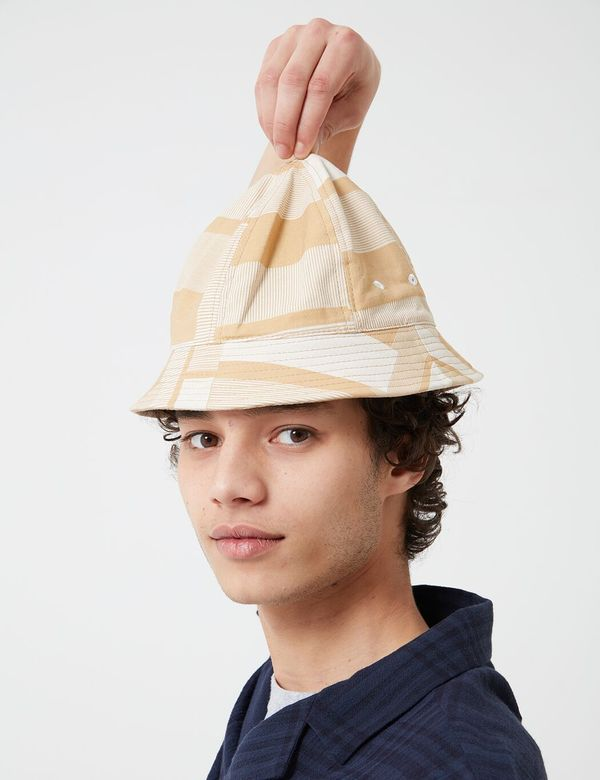 Folk Clothing Bucket Hat - Marigold Jacquard