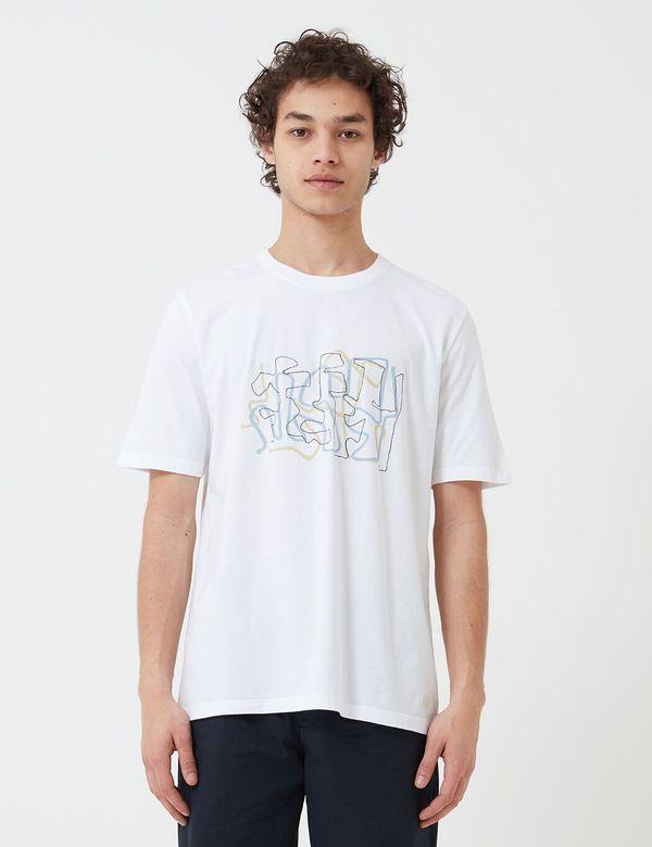 Folk Clothing Folk Knot T-Shirt - White