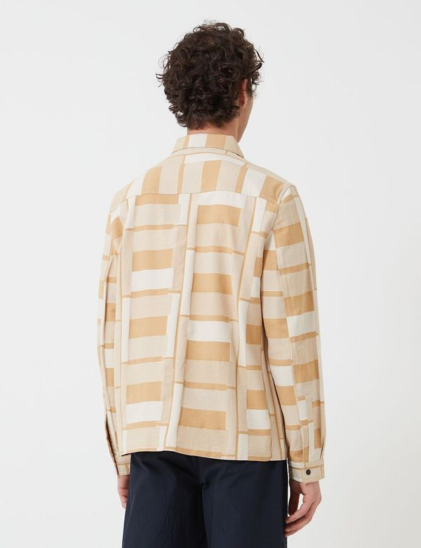Folk Clothing Jacquard Orb Jacket - Marigold