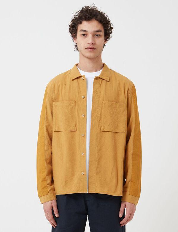 Folk Clothing Folk Overlay Overshirt - Mustard