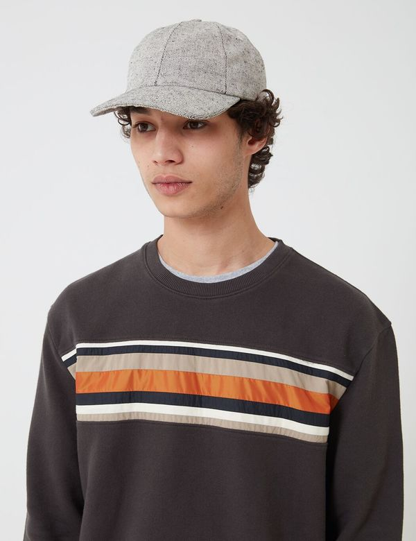 Folk Clothing Folk Six Panel Cap - Salt and Pepper