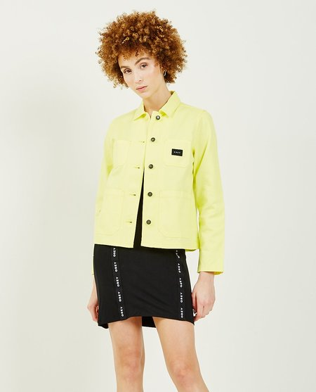 Obey Slacker Chore Coat - Lemon