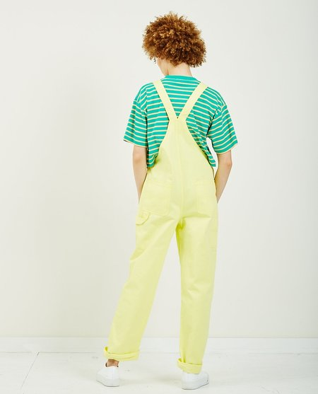 Obey Slacker Overall - Lemon