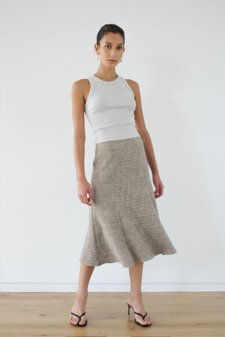LOCLAIRE Eveline Skirt - Biscuit