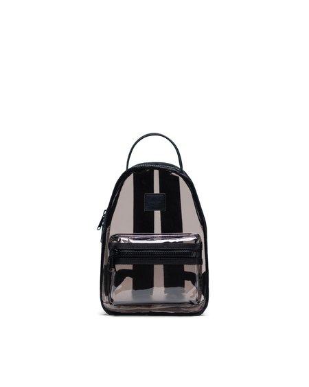 HERSCHEL SUPPLY CO Mochila Mini Nova Clear Collection - Black