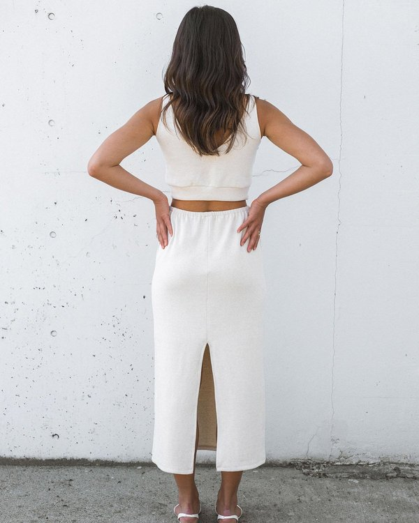 harly jae Kea skirt - Oatmeal