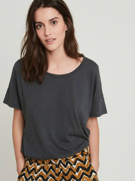 Hartford Teleone T-Shirt - Charcoal