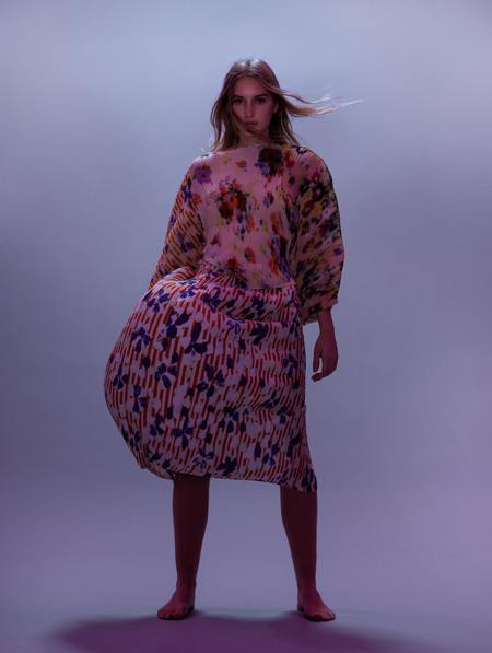 Julia Heuer Ekke Skirt Ben Col 2 - Digital Print