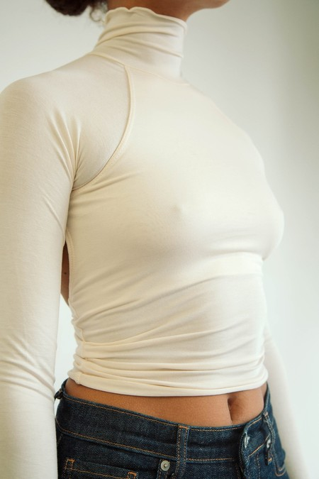 Line by K Margaux Top - Ivory