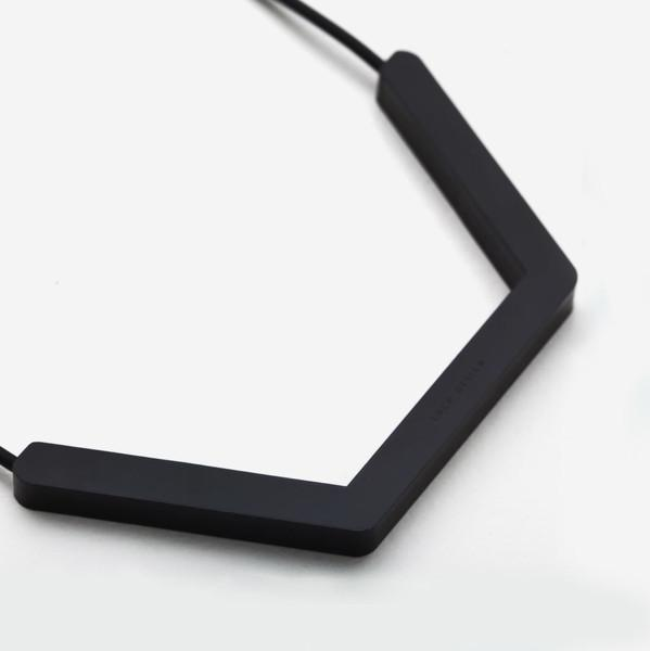 Luch Design Hexagone Lines Necklace