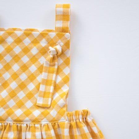 kids Thimble Collection Pinafore Dress - Sunshine