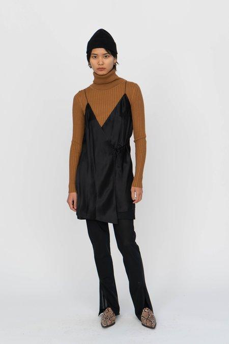 Index Series Annecy Wrap Slip Dress