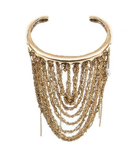Arielle De Pinto Prestige Cuff in Gold