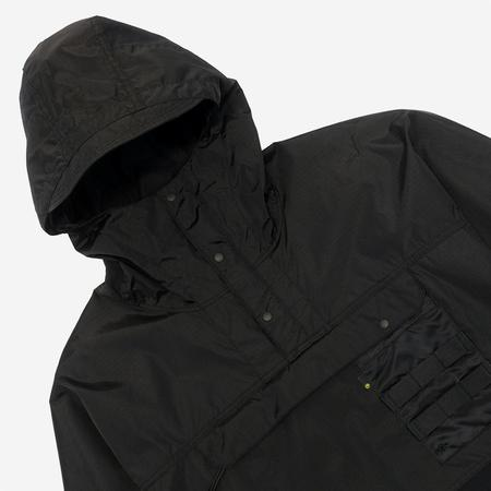 Pallet Life Story Packable Anorak Jacket - Black Ripstop