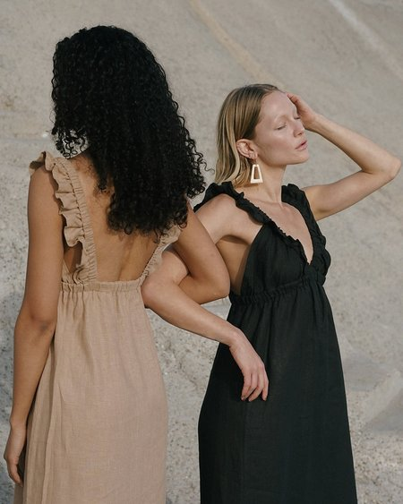 harly jae Milos dress - Black