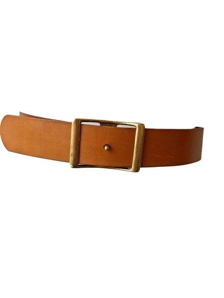C.S. Simko Leather Waist Belt