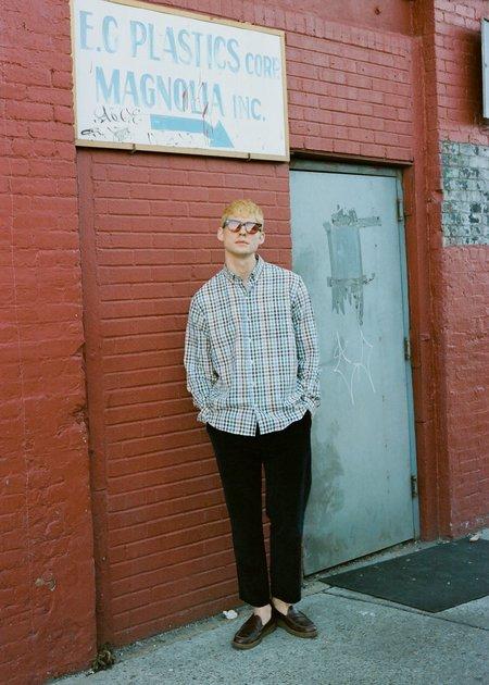 Steven Alan Single Needle Shirt - Picnic Linen