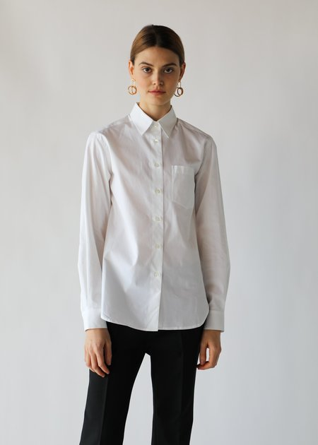 ARCH THE Buttondown Shirt in White