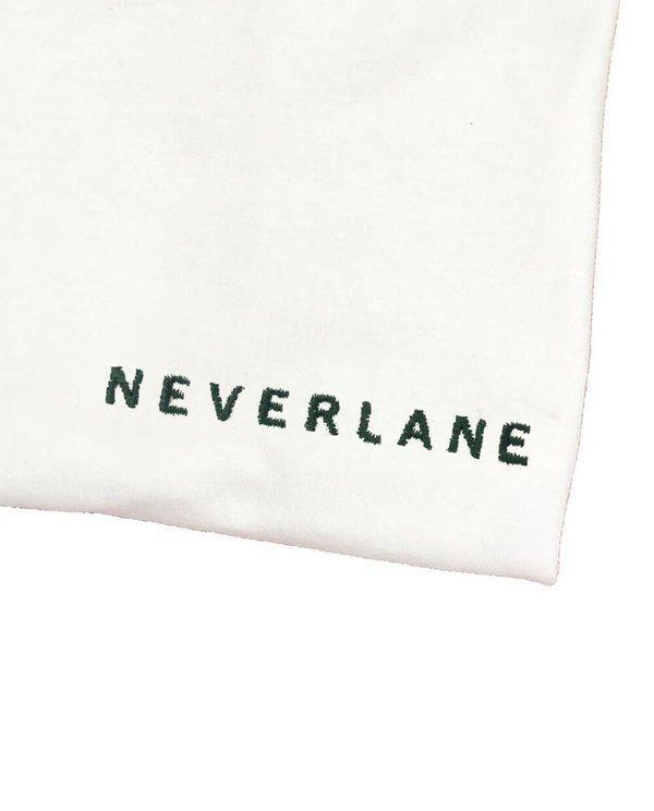 House of 950 embroidery NEVERLANE tee shirt