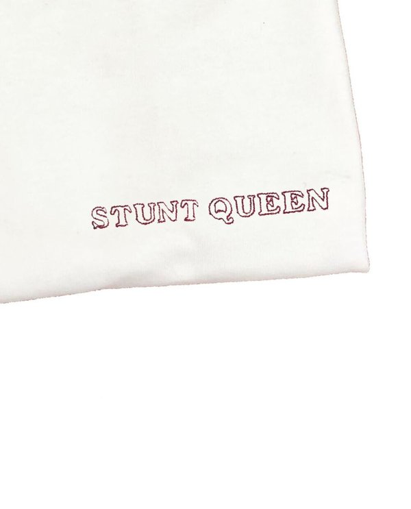House of 950 embroidery STUNT QUEEN tee shirt