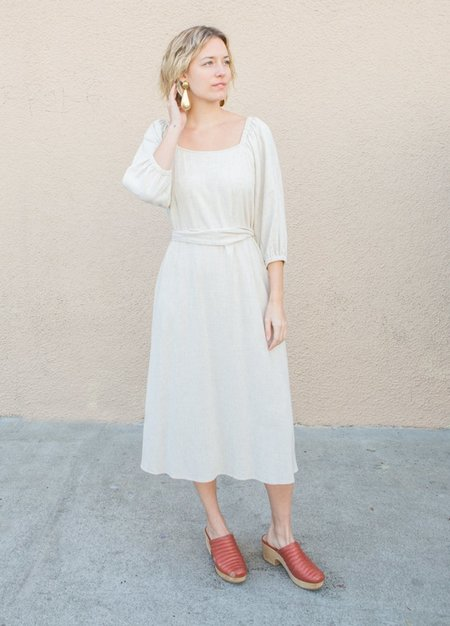Rachel Pally Linen Eris Dress - Natural
