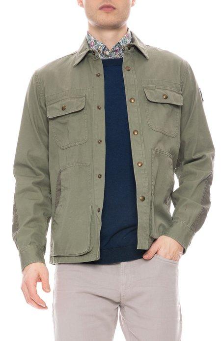 Belstaff Arbor Cotton-Twill Shirt Jacket