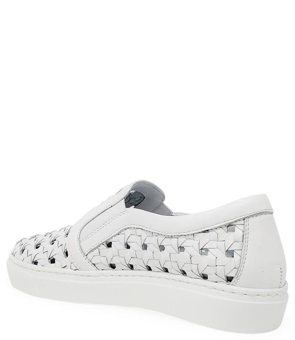 Madison Maison Woven Sneakers - White