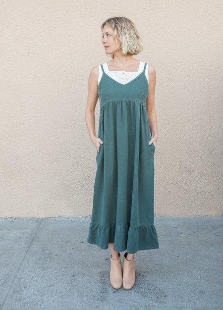 Lacausa Indio Dress - seaweed