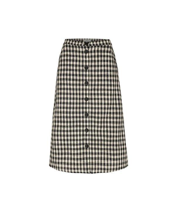 Minimum W Falda Sodot Skirt - Black