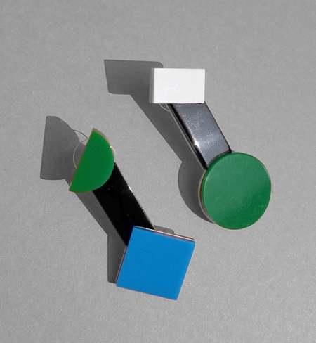 MATTER MATTERS CASA drop earrings - Green