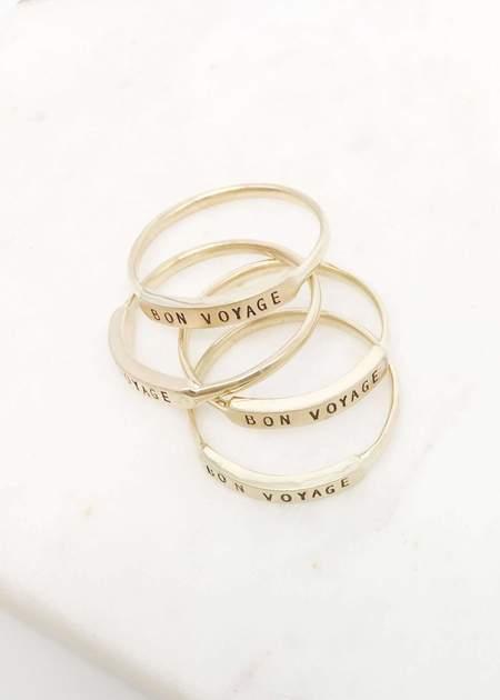 Christina Kober Designs Bon Voyage ring - 14K Gold