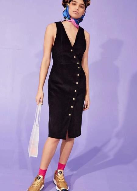 Eve Gravel Delirium dress - Black