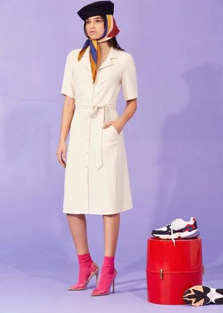 Eve Gravel Mi ojo dress - Cream