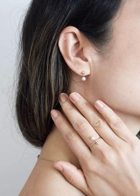n+a new york Tahiti Darling ring - 14K gold