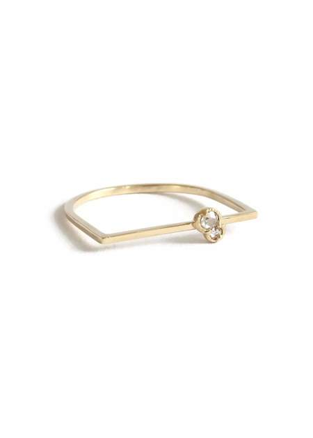 Lio and Linn Twin City Bae ring - 14K gold