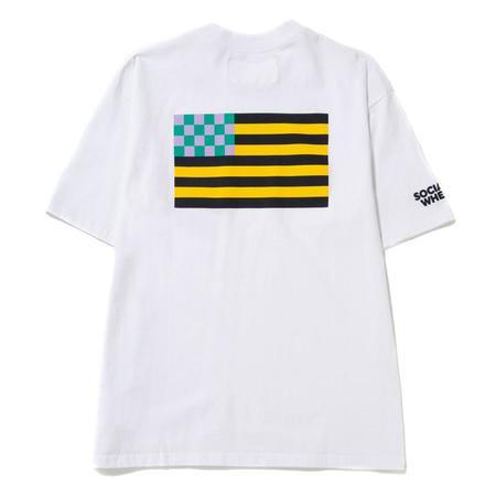 Reception Flag T-shirt -White