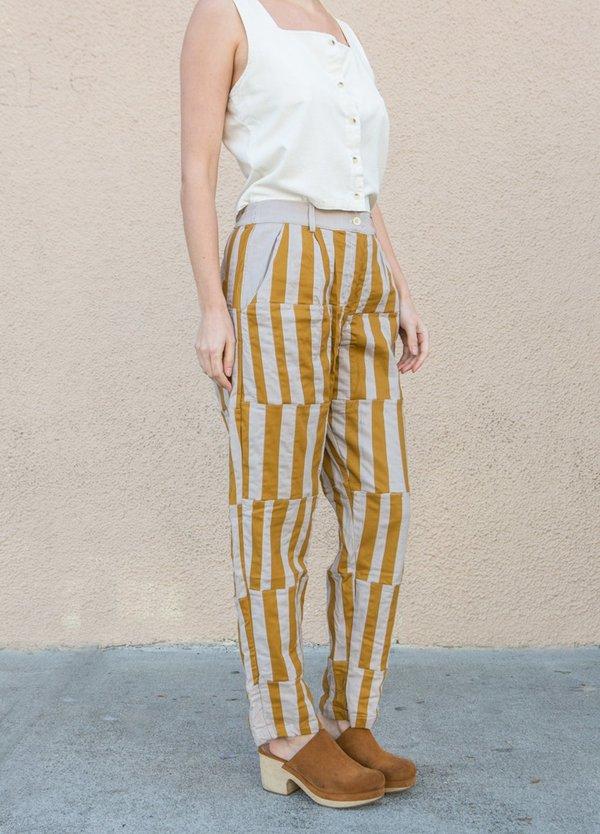 Tonle Kita Classic Pant - Black/Cream/Grey
